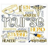 Nurse Wrapped Canvas Art